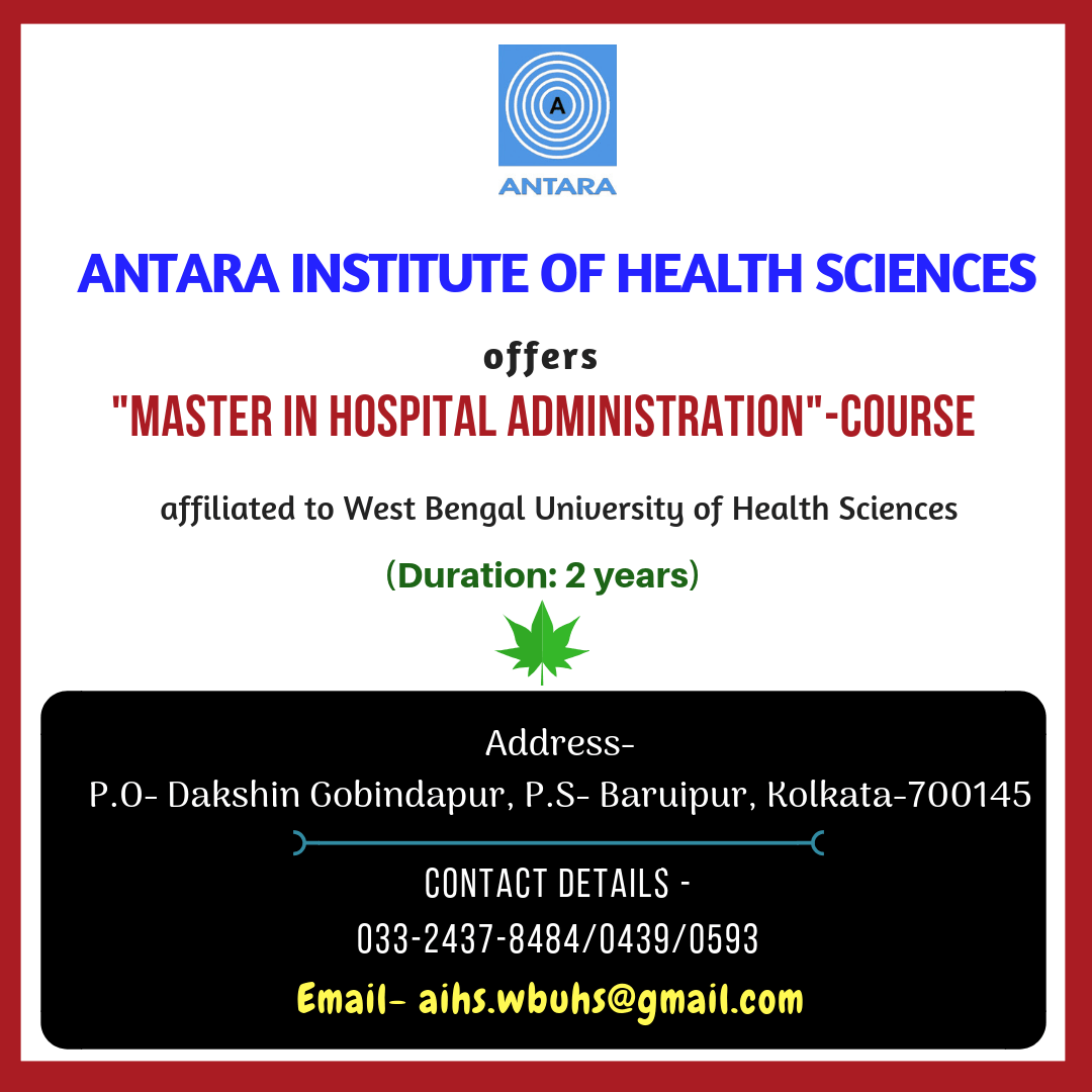 Master in Hospital Administration Course