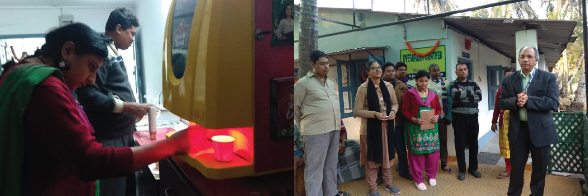 """Inauguration of New Canteen """"Evergreen Canteen'"""