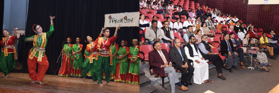 "A Music & Dance Programme based on Rabindra Sangeet – ""Biswabhora Pran"""