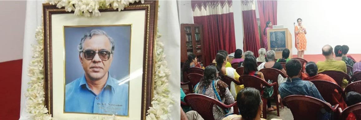 Commemorating the Death Anniversary of Dr. K.L.Narayanan