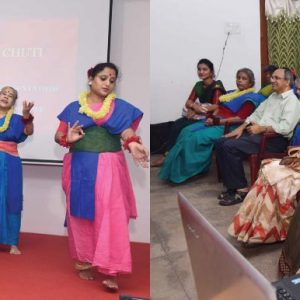 "Dr. Mandar Mukherjee presented a Demonstration Lecture ""Chuti/Chuti"""