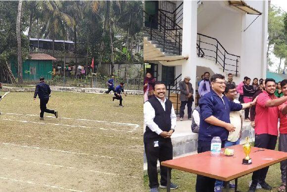 Limited Over Cricket Tournament held at Antaragram